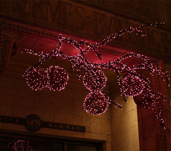 De l'installation de vos décors de Noël jusqu'à leur démontage, vous pouvez compter sur le professionnalisme de notre équipe.