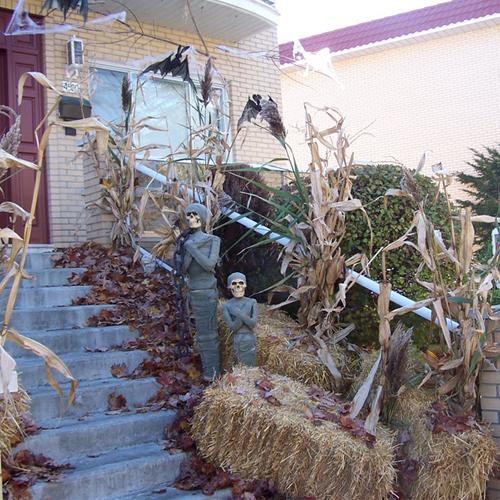 Awesome decoration exterieur halloween pictures - Deco exterieur halloween ...